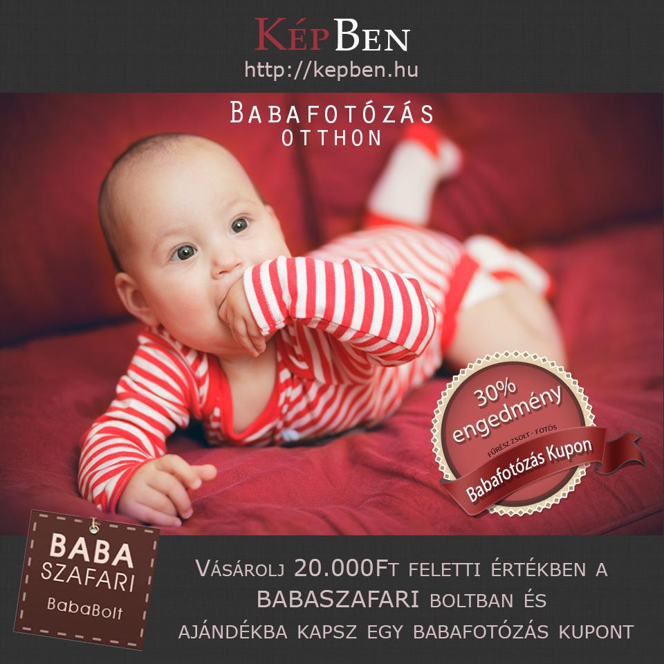 Babafotózás akció a Babaszafari bolttal